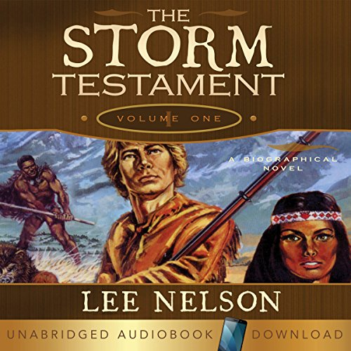 The Storm Testament I audiobook cover art