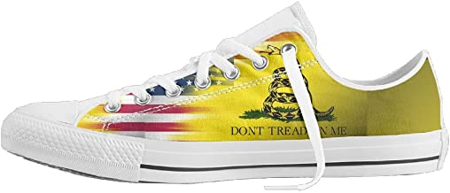 Various Usa Flag Low-Top Sneaker Canvas Shoes Boys Women's Soft Sole Shoes