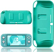 Capa Protetora Com Slot De Cartão De Jogo Nintendo Switch Lite - Turquesa