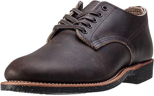 rouge Wing Pour des hommes Merchant Oxford 8044 Ebony Leather chaussures 41 EU