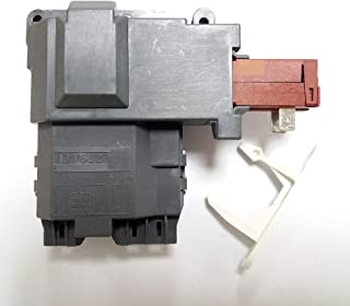 1317632 131763256 Washer Door Lock Latch Switch Assembly & 1317633 Door Strike for Electrolux, Frigidaire, White-Westinghouse, Crosley, Gibson, GE Front Load Washer. Replace 131763256 & 131763310