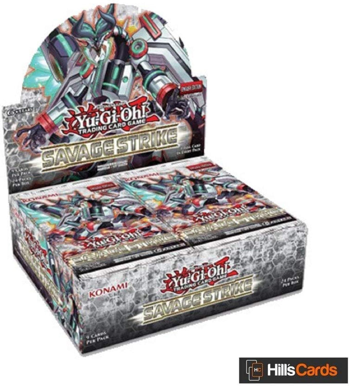 YuGiOh  KONSSBB Savage Strike Booster Display Box of 24 Packets