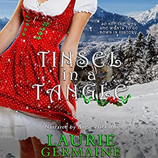 Tinsel in a Tangle audiobook cover art
