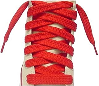 Flat Athletic Shoe Laces, 1 Pair Pack, Multipule sizes And Colors For All Sneaker Types, Made in the USA