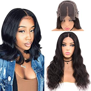 Goldfinch Body Wave Human Hair Lace Front Wig 150% Density Short Body Wave Lace Front Wig Remy Virgin Human Hair 4x4 Lace Closure Wig Natural Hairline 10 inches