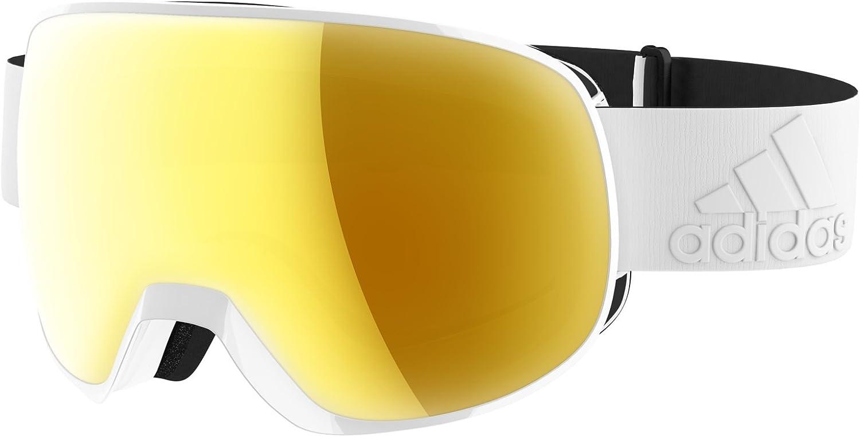 Adidas ad82 6054 White gold Progressor S Visor Goggles Lens Category 2 Lens M