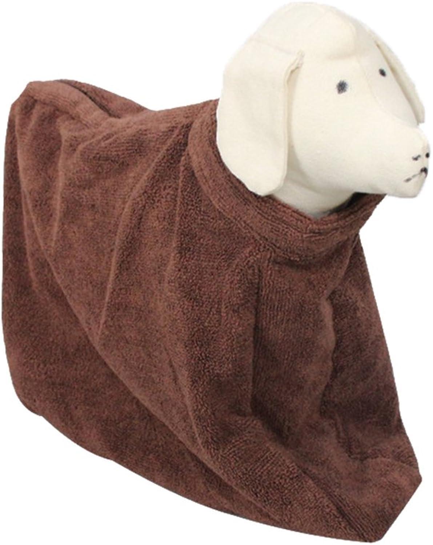 Bath Towel Pet Bathrobe Fast Dry Quick Absorbent Pet Bath Robe Cat Towel