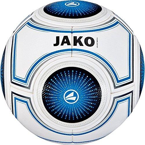 JAKO Ball Galaxy Match, weiß blau/Schwarz, 5