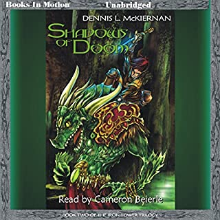 Shadows of Doom audiobook cover art