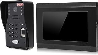 Monitoreo de interfono con visión nocturna, intercomunicador, para seguridad en el hogar con cámara R-CUT(European regulat...