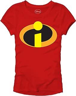Pixar Incredibles Juniors Movie Logo Icon T-Shirt