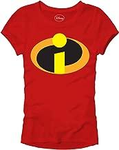 Disney Pixar Incredibles Juniors Movie Logo Icon T-Shirt