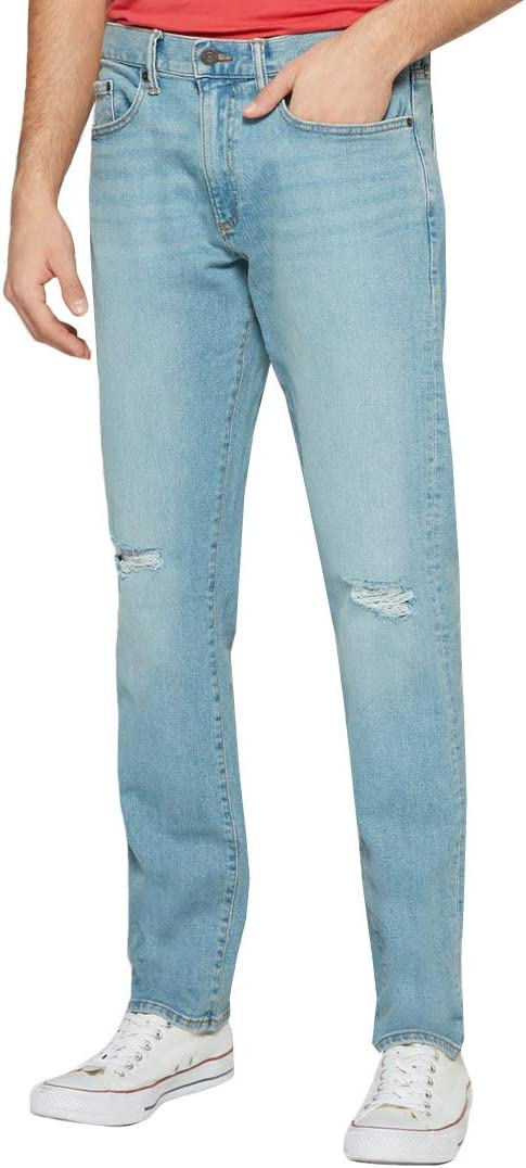 Gap Jeans Para Hombre Pantalon De Mezclilla Corte Slim Desgastado Modelo 443323 Amazon Com Mx Ropa Zapatos Y Accesorios