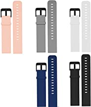 Compatible with Garmin Venu Sq Bands, YOUkei Quick Release Watch Soft Silicone Sport Band Compatible with Garmin Venu Sq S...