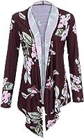 Preferential New Zlolia Winter Women Warm Coat Long Sleeve Printing Plus Size Open Blazer Cardigan Outwear