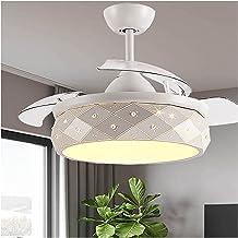 Kroonluchter Onzichtbare LED Ventilator Licht, Plafond Ventilator Licht, Led Fan Kroonluchter in Woonkamer, Eenvoudige Hom...