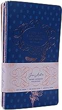 Jane Austen Sewn Pocket Notebook Collection (Set of 3)
