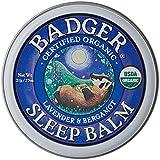 Badger - Bálsamo para dormir, bálsamo de noche. Envase de 21 g.