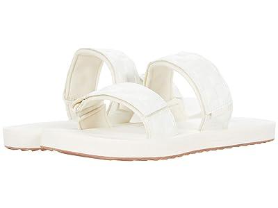 Vans Cayucas Slide ((Leather Emboss) Marshmallow) Women