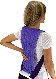 Nature Creation- Spine & Back - Tense Back Relief - Herbal Hot and Cold Pack (Purple Marble)
