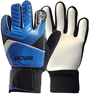 BOER 5-7# Children Kids Youth Football Soccer Goalkeeper Goalie Training Gloves Gear