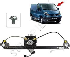 STARKIT PERFORMANCE Elevalunas eléctrico delantero izquierdo conductor con motor para Renault Trafic Opel Vivaro Nissan Primastar de 2001 a 2014