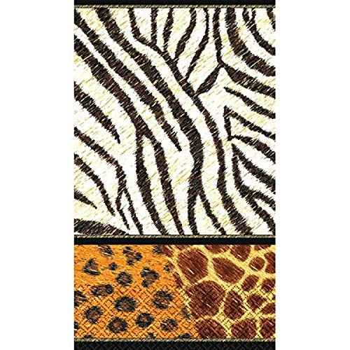 Amscan 53467 Guest Towels Party Supplies, Paper, Multicol