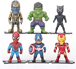Ultimate Super Hero Set Action Figures from Movie Avengers 4 Ending Game (AVS3 6PCS)