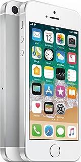 Apple iPhone SE, GSM Unlocked, 64GB - Silver (Renewed)