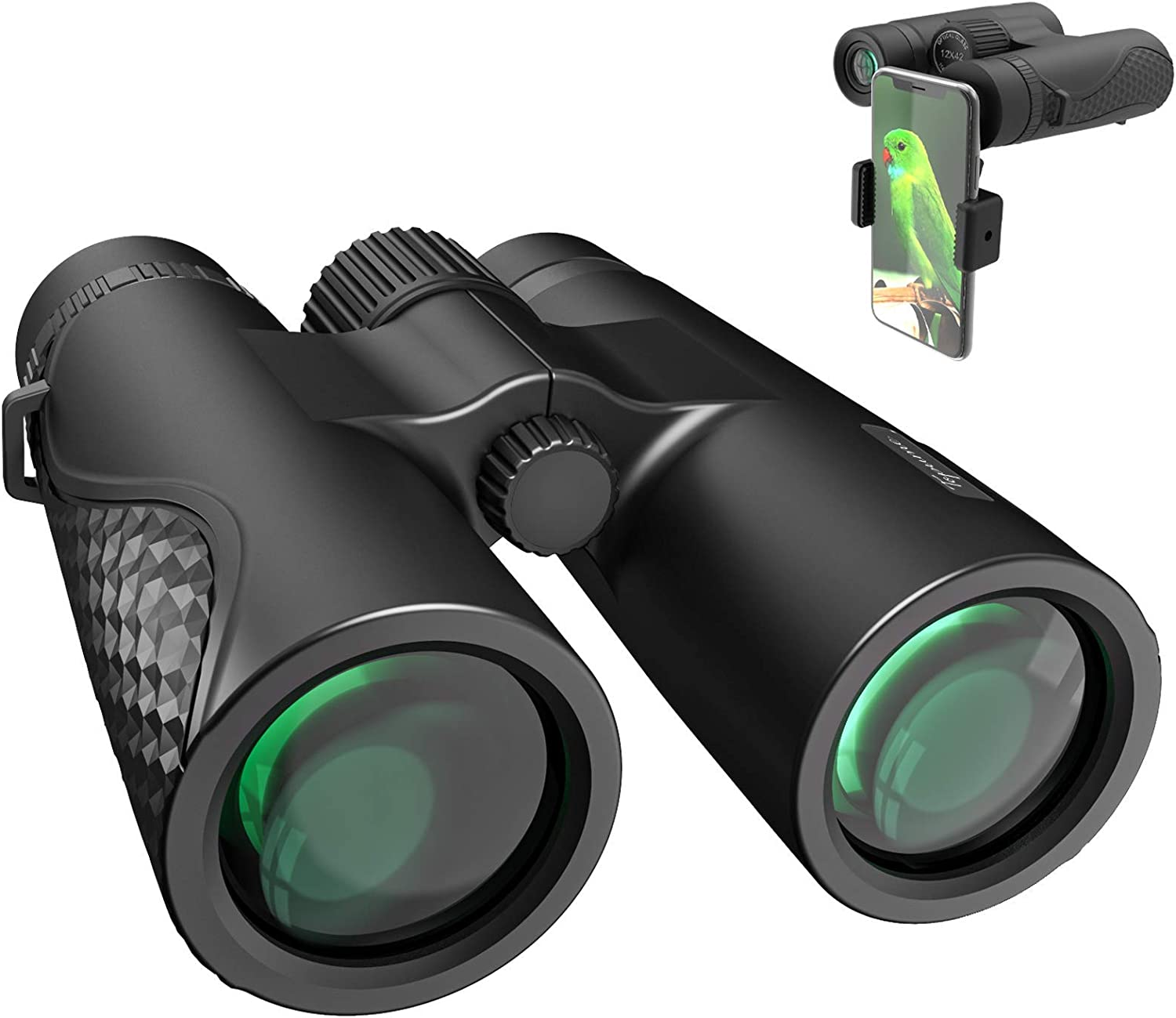 Topume Over item handling 12x42 Binoculars for Max 61% OFF Adults with Ph Smartphone