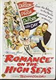 DVD cover for Romance on the High Seas