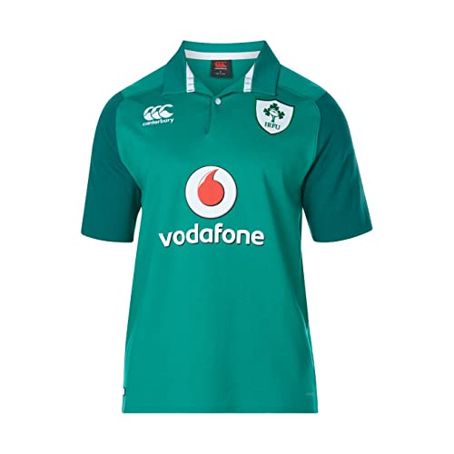 10cce94f01c Canterbury Ireland Official 17/18 Men's Rugby Short Sleeve Home Classic  Jersey