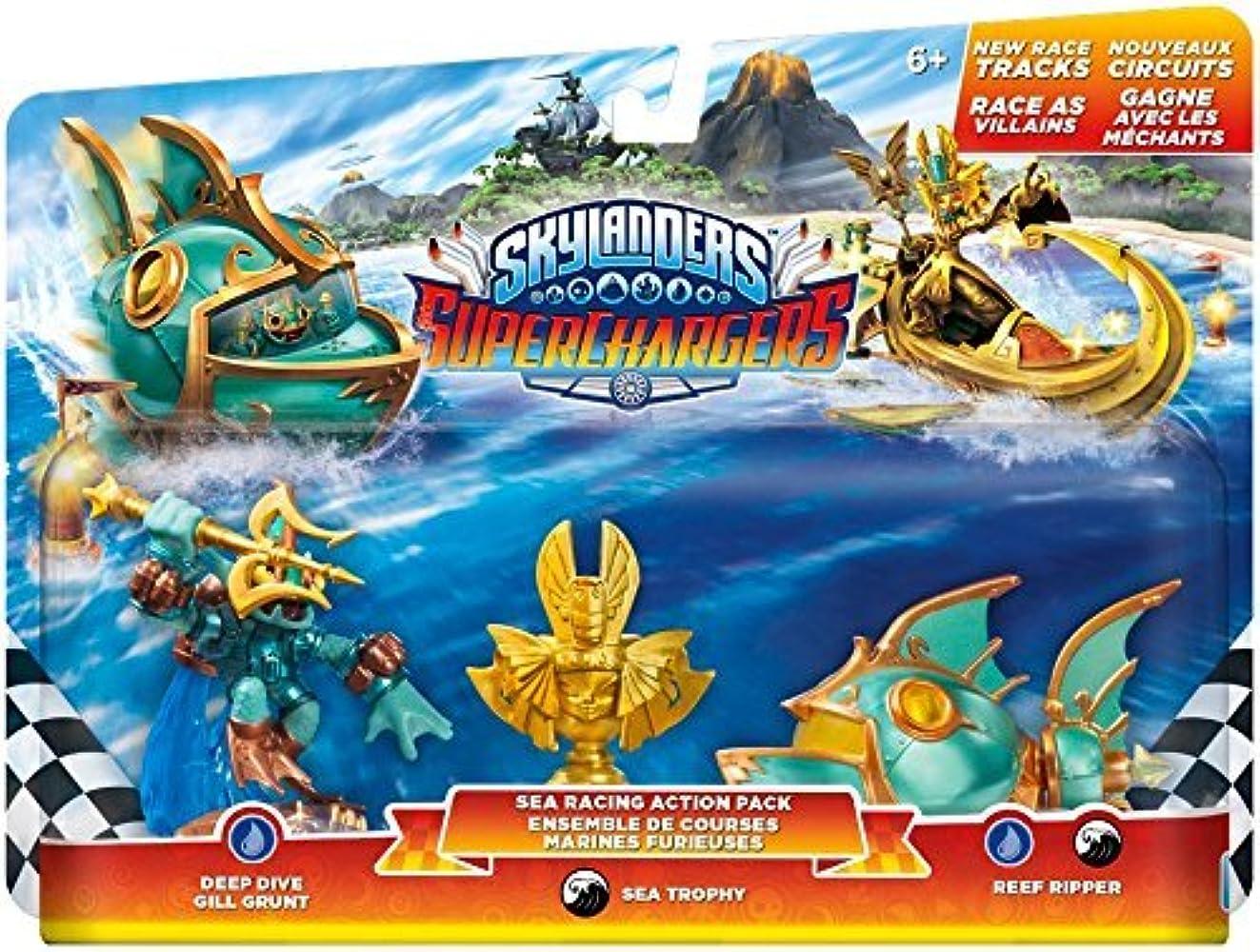 はしご沈黙令状Skylanders SuperChargers: Racing Sea Pack by Activision [並行輸入品]
