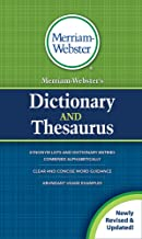 Download Book Merriam-Webster's Dictionary and Thesaurus, New Edition, (Mass-Market Paperback) 2020 Copyright PDF