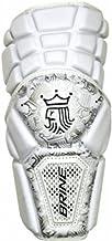 Brine King III Lacrosse Arm Pads White Large