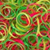 AQBAH Premium Quality Rubber Band for Kitchen, Home, Office, 2 inch, Multicolour - Packet of 50 g #1