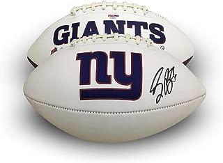 saquon barkley autographed football