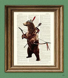 Best native american bear art Reviews