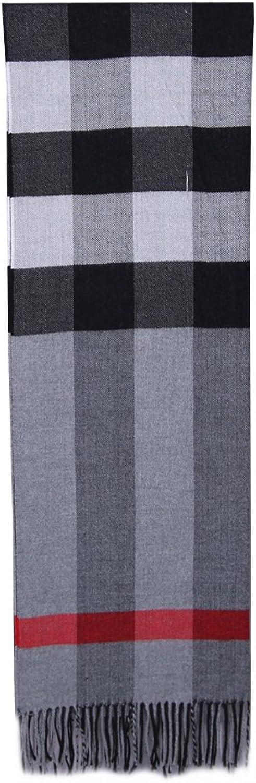 5Dreams Women Tartan Scarf Stole Plaid Cashmere Feel Winter Scarves Wraps Shawl