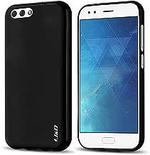 J&D Case Compatible for ZenFone 4 ZE554KL Case, [Drop Protection] [Slim Cushion] Shock Resistant Protective TPU Slim Case for ASUS ZenFone 4 (ZE554KL) Bumper Case - Black