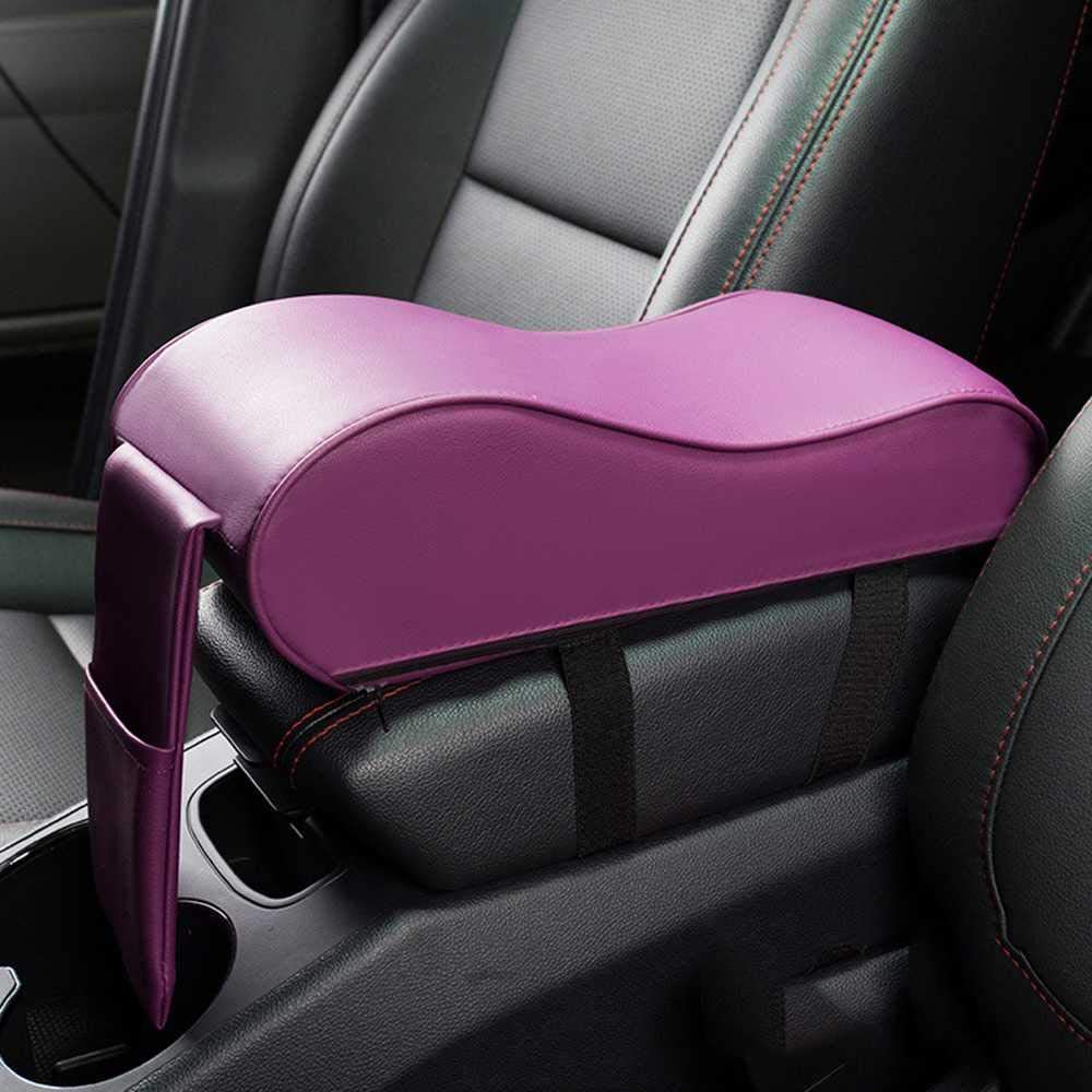 At the price ZHHRHC Max 88% OFF Car Central Armrest Pad Auto Arm Center Rest Console Seat