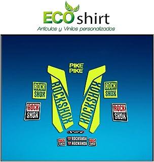 Rojo 29 Ecoshirt EO-F1LM-OIXC Pegatinas Horquilla Fork Rockshox Revelation 2016 Am38 Stickers Aufkleber Decals Adesivi Bike BTT MTB Cycle