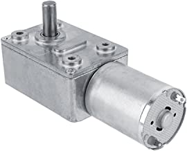 High Torque Turbo Geared Motor Gearbox DC 12V Motor 2/3/5/610/20/30/40/62/100RPM (2 RPM)