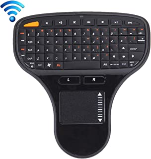 White HUIFANGBU KM-909 2.4GHz Wireless Multimedia Keyboard Color : White Black Random Pen Mouse Color Delivery Wireless Optical Pen Mouse with USB Receiver Set for Computer PC Laptop