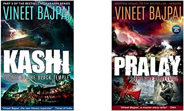 Kashi: Secret of the Black Temple (Harappa) + Pralay: The Great Deluge (Harappa) (Set of 2 Books)