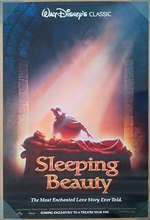 SLEEPING BEAUTY MOVIE POSTER 1 Sided ORIGINAL 27x40 DISNEY