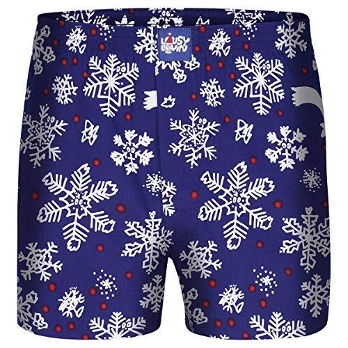 Lousy Livin Boxershorts Snow Flakes XXL