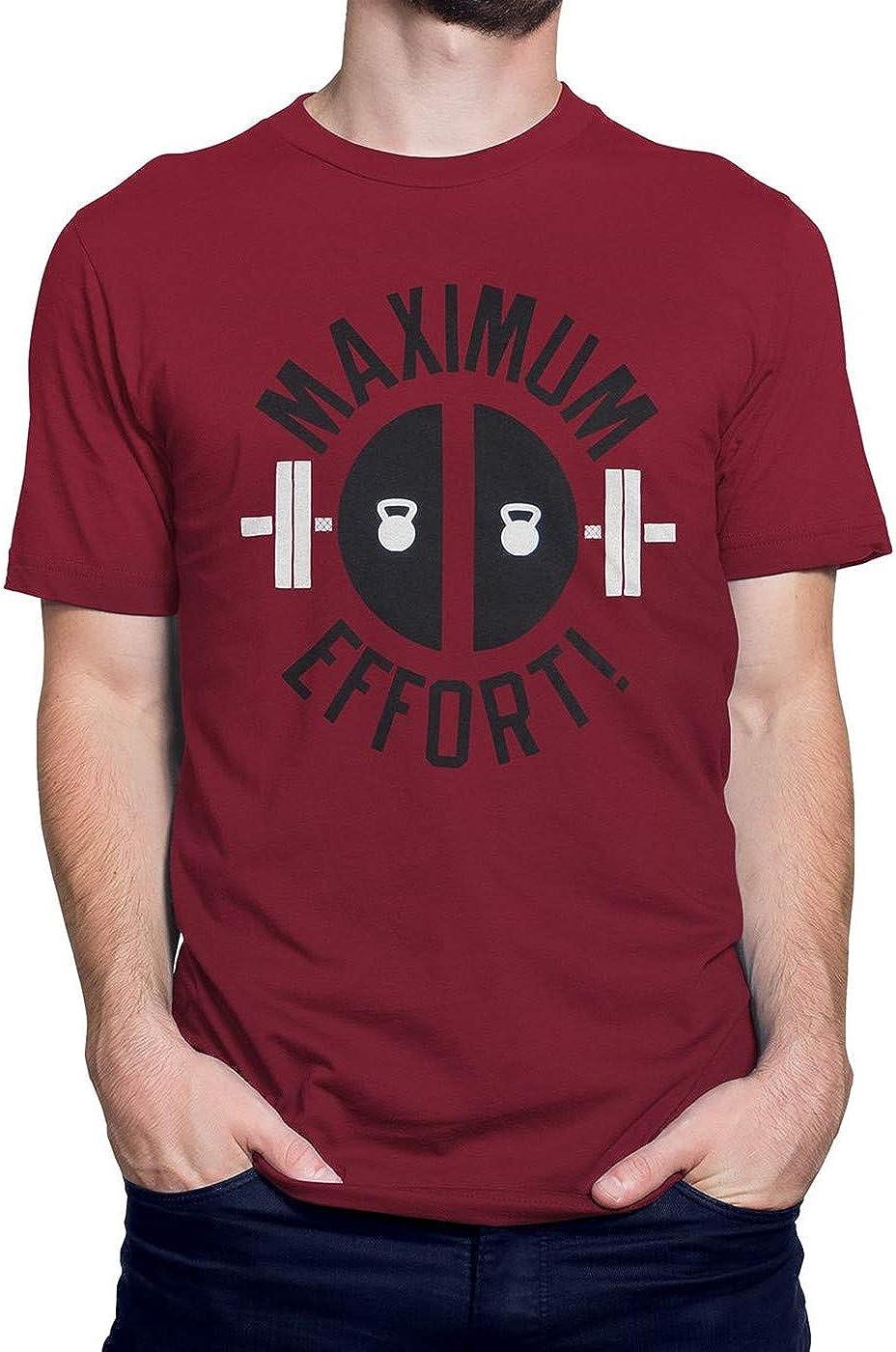 Deadpool Maximum Effort Men's Super special High material price T-Shirt