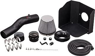 Filter 05-10 Pontiac G6 All Model with 3.5L//3.6L//3.9L V6 Engine Velocity Concepts Black Short Ram Air Intake Kit