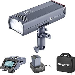 Neewer 200Ws 2.4G TTL Flash Strobe Compatible with Sony Mirrorless Camera, 1/8000 HSS Pocket Monolight with Q-S Wireless T...
